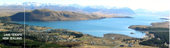 Information on Lake Tekapo with Tekapo Tourism