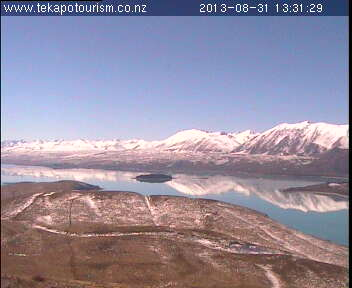 North East view - Tekapo Tourism webcam