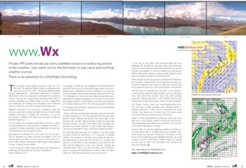 Article on weather and webcams in NZ's Vector magazine