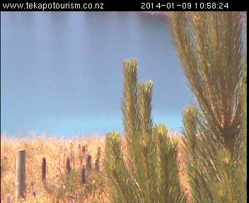 Lake Tekapo webcam - Lake Tekapo webcam, Canterbury, Mackenzie